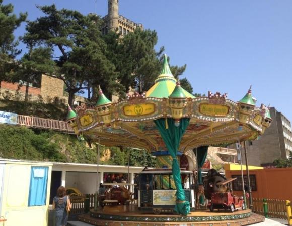 El parque de atracciones del Monte Igueldo