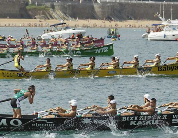 REGATTA RACES IN LA CONCHA