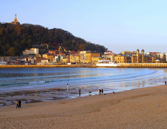Three beaches in Donostia / San Sebastian